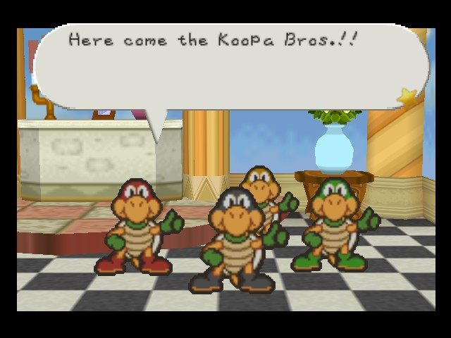 Paper Mario - More like TMNT - User Screenshot
